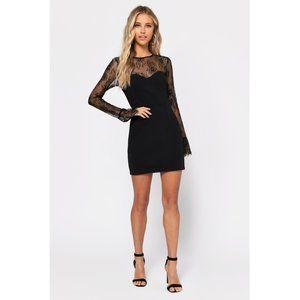 Tobi Julie Lace Bodycon Mini Dress NWOT Small